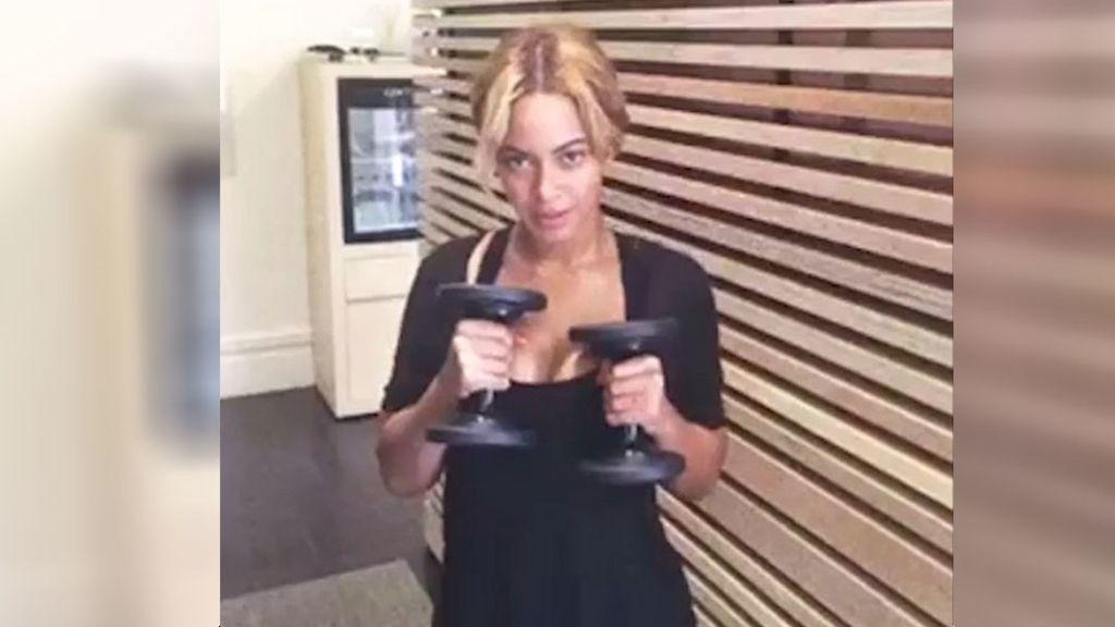 Beyoncé, al ritmo de Rocky