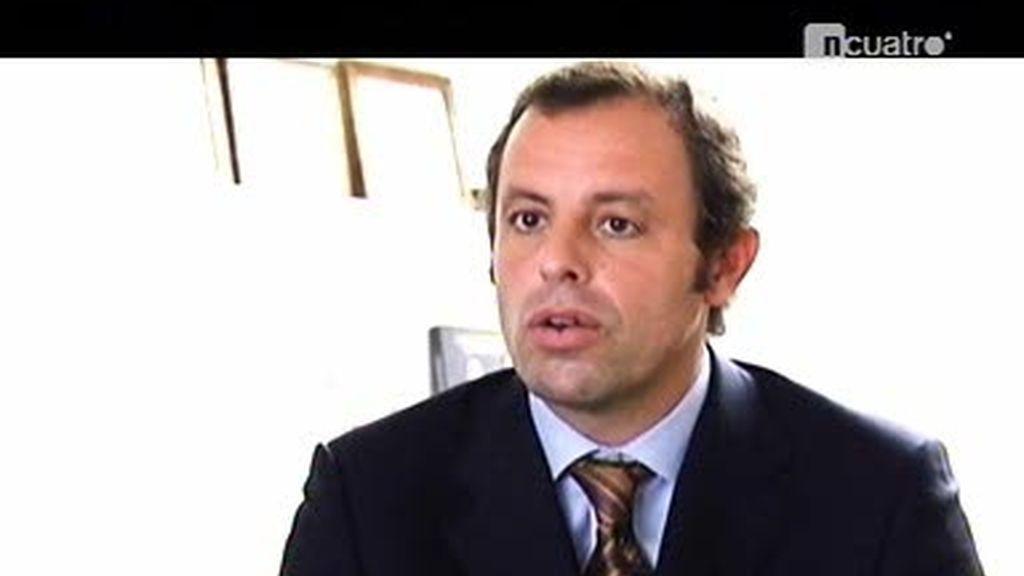 Entrevista a Sandro Rosell, sin pelos en la lengua