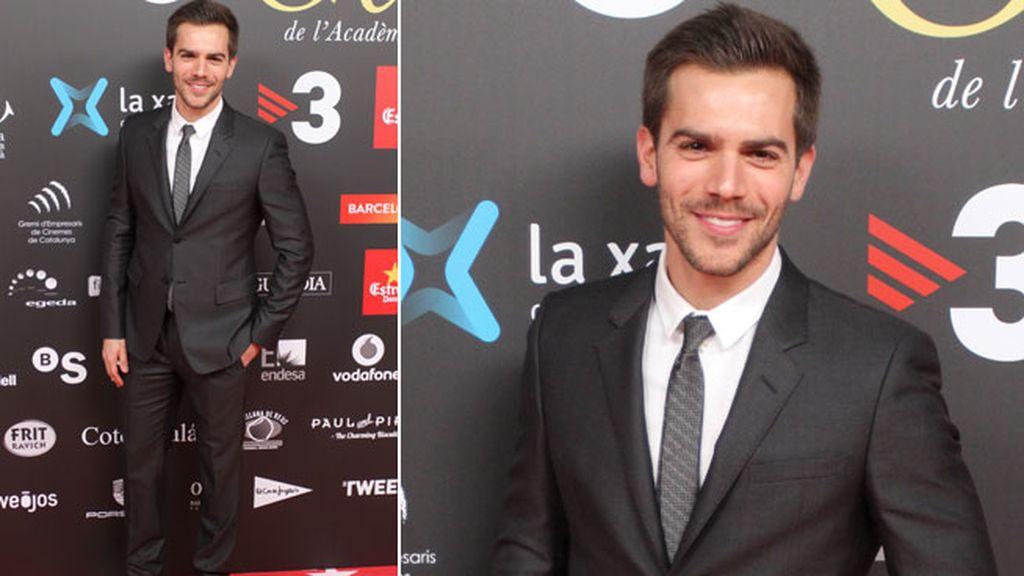 El actor Marc Clotet, que esta vez no acudió acompañado por Natalia Sánchez