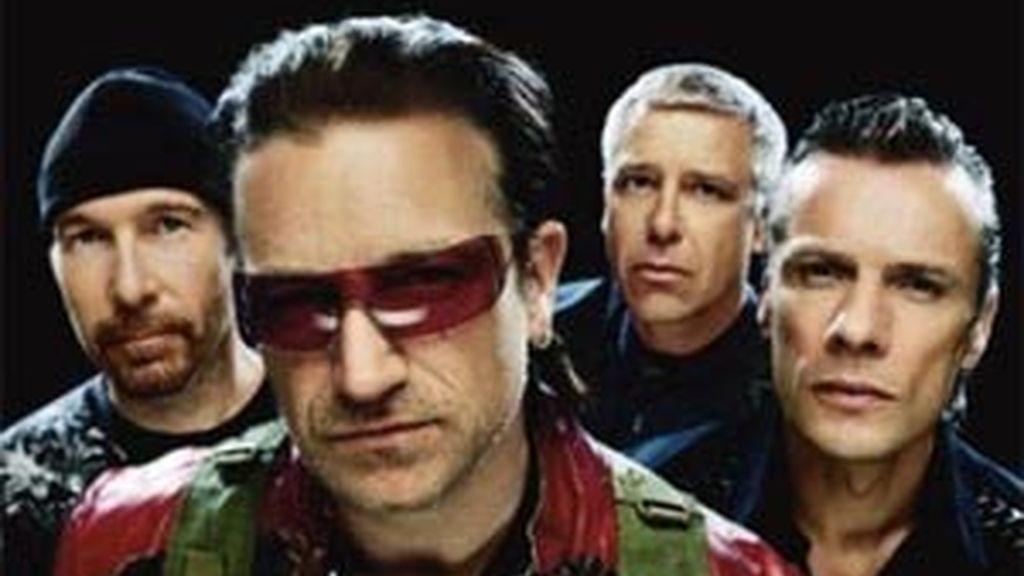 Imagen de archivo del grupo irlandés U2.