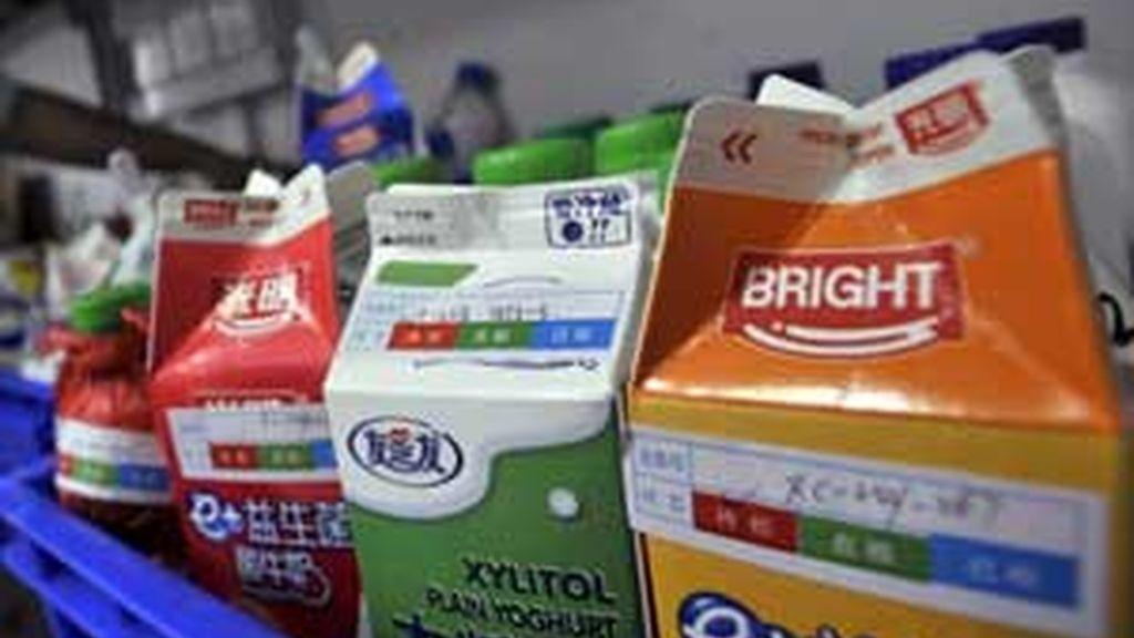 Seis bebés murieron por  la leche china contaminada. Foto: EFE