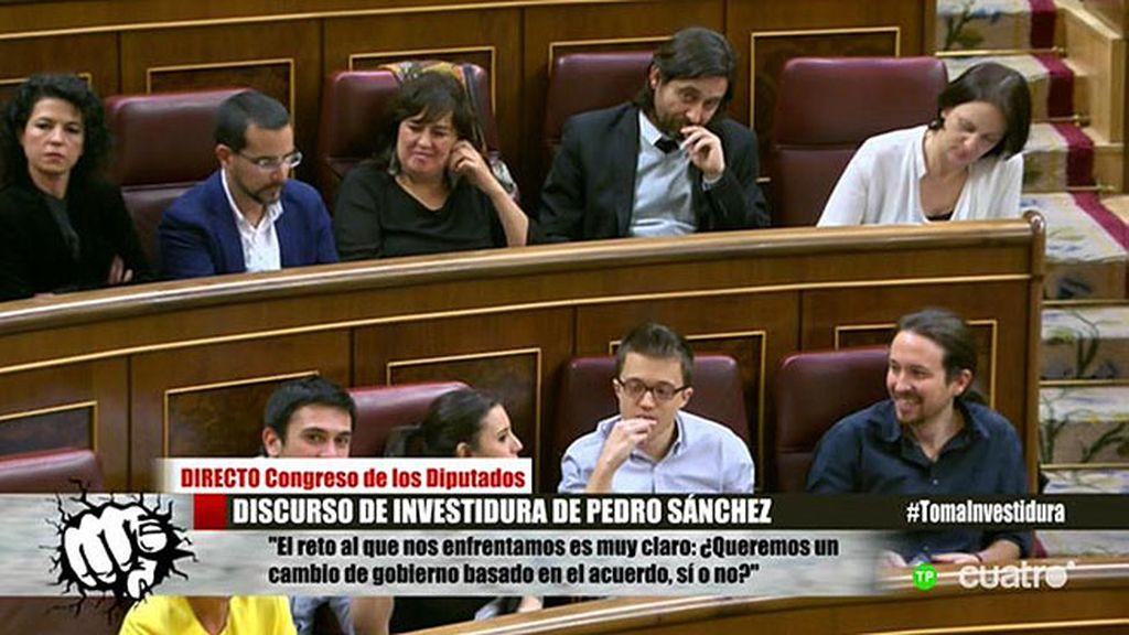 Pedro Sánchez intenta conseguir los apoyos necesarios para ser investido