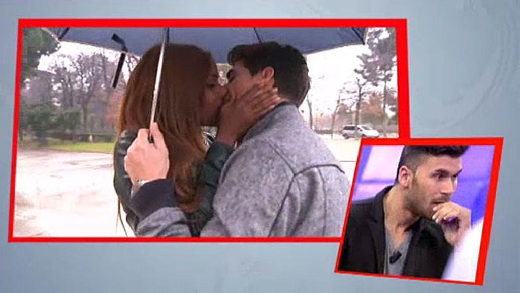 """Liz: """"Era momento de dar un beso"""""""