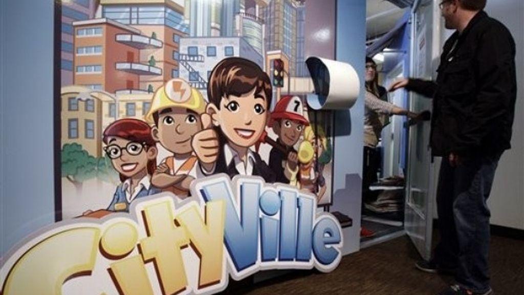 Entrada al cuartel general de CityVille en Zynga, en San Francisco (California)