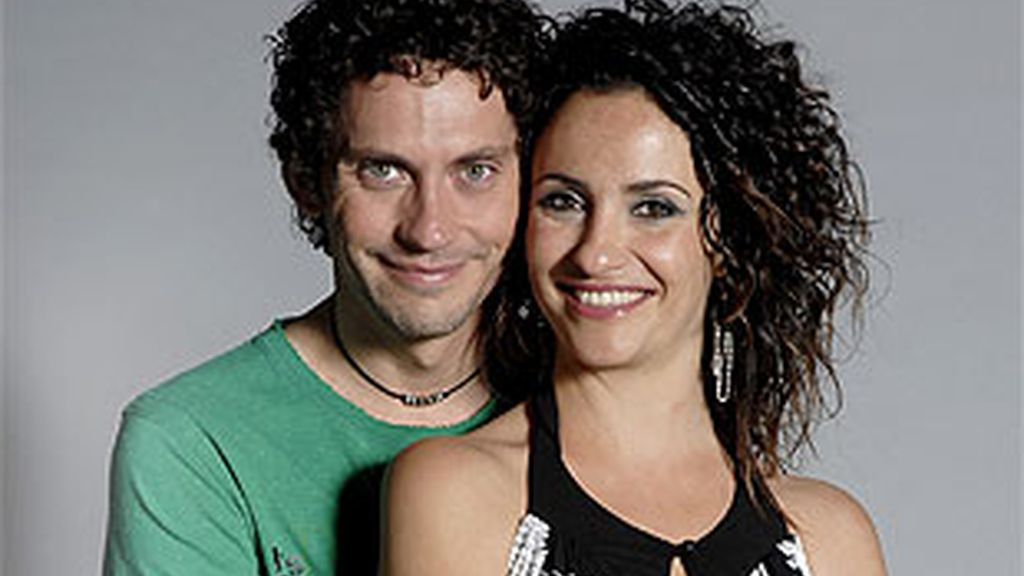 Melania Olivares y Paco León, Luisma y Macu.