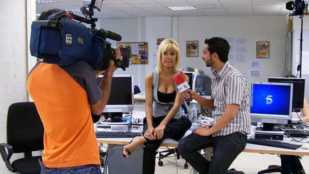Miriam Sánchez en 'Está pasando'
