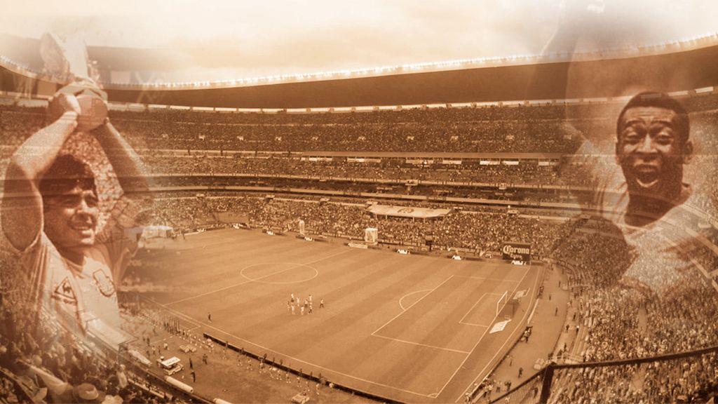 Sólo los dioses ganan un Mundial en el Azteca