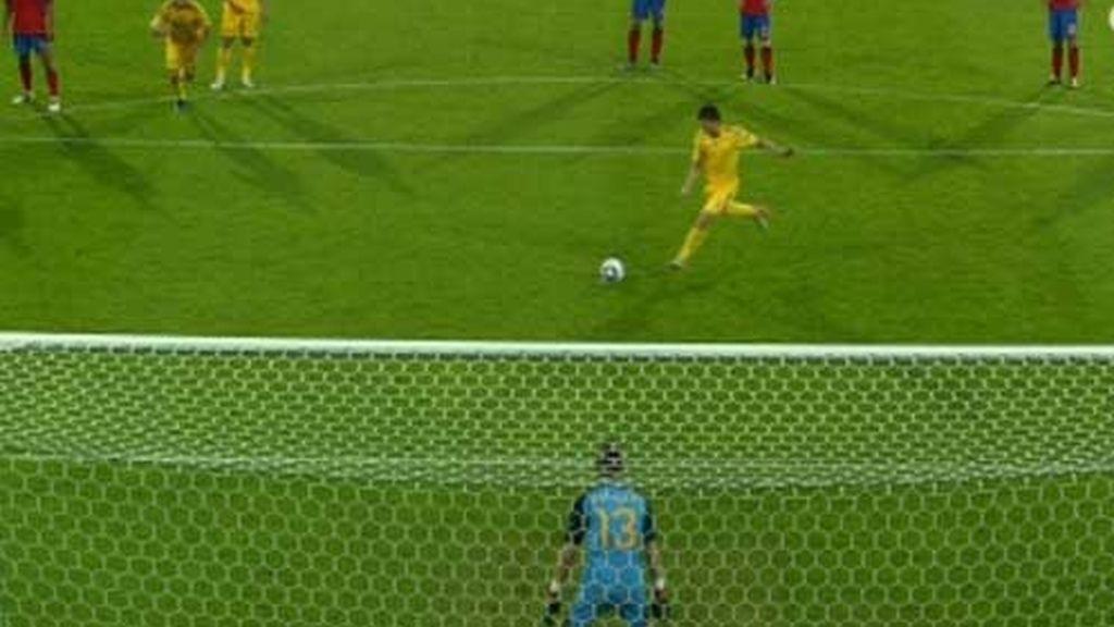 El penalti de Ucrania