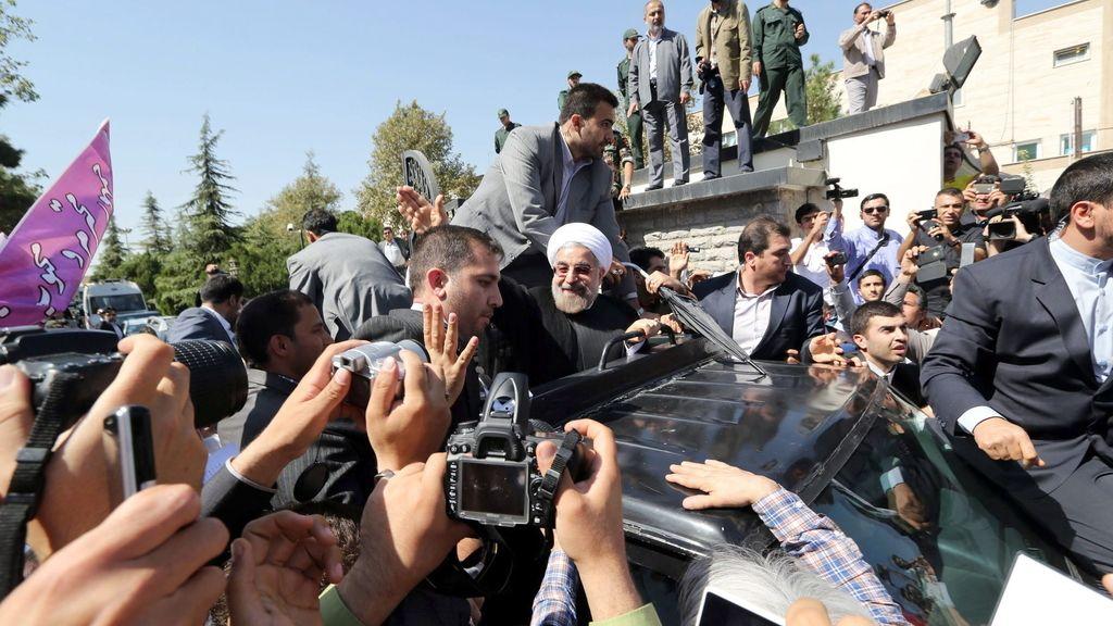El presidente iraní, Hasan Rohani