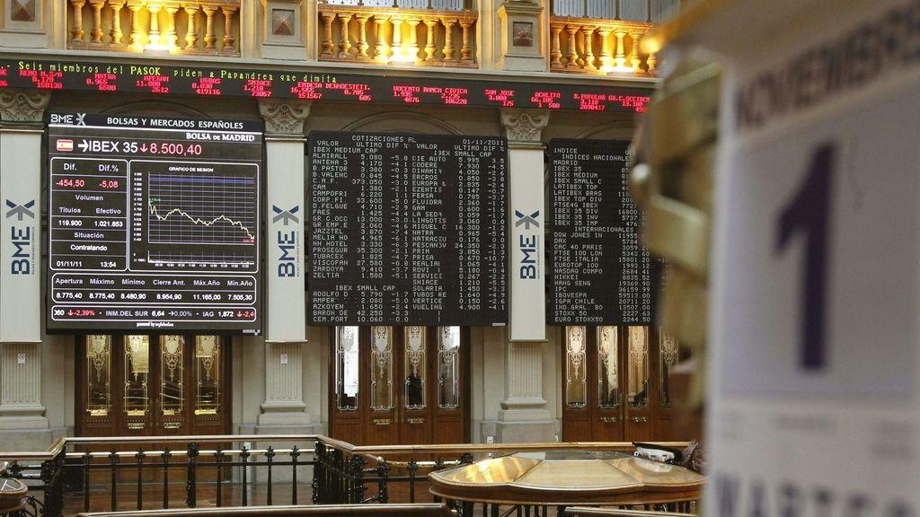 La Bolsa pierde un 4,19 %