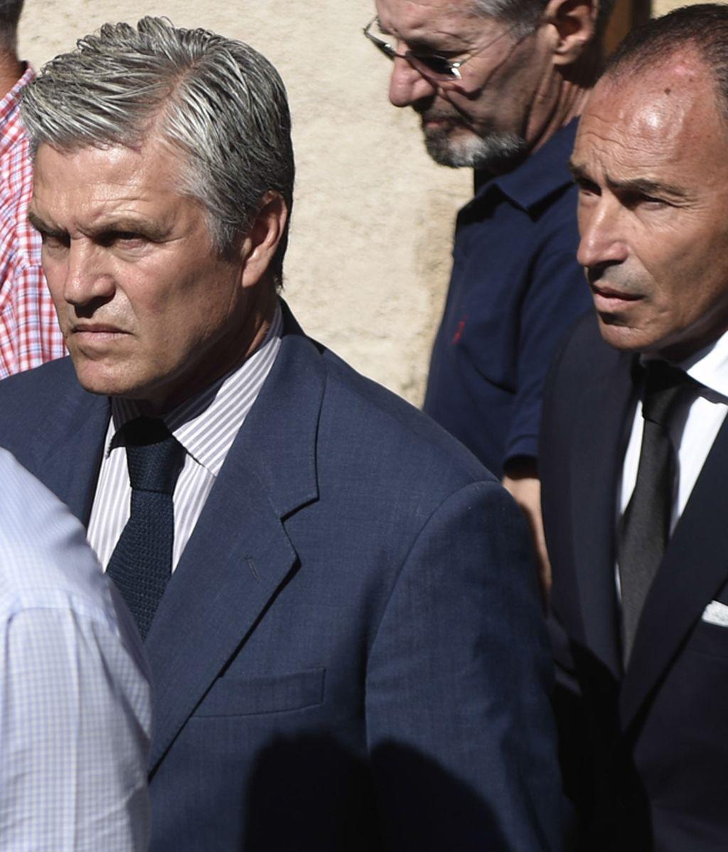Espartaco, en el funeral de Víctor Barrio
