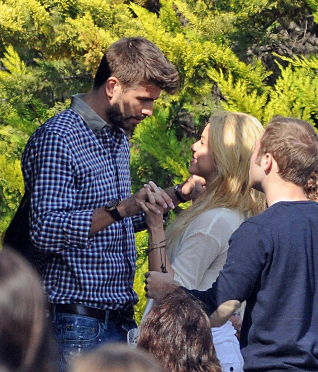 Shakira y Piqué se reencuentran en Barcelona