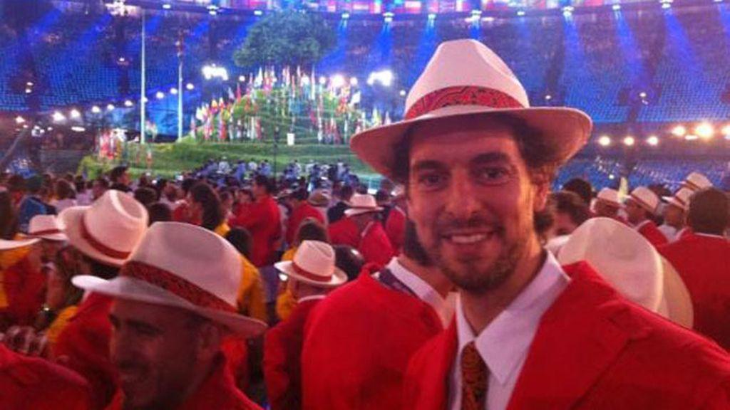 Qué maravillosa experiencia!!! Nunca lo olvidaré!! Palabras con las que Gasol explicaba en twitter la experiencia de ser el abanderado español de Londres 2012