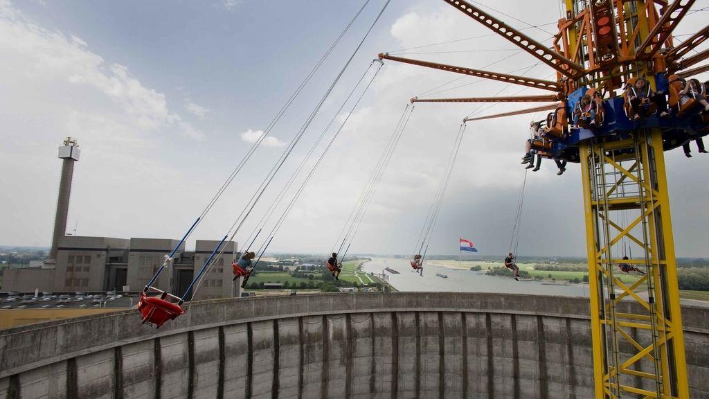 Una central nuclear se reconvierte en parque de atracciones
