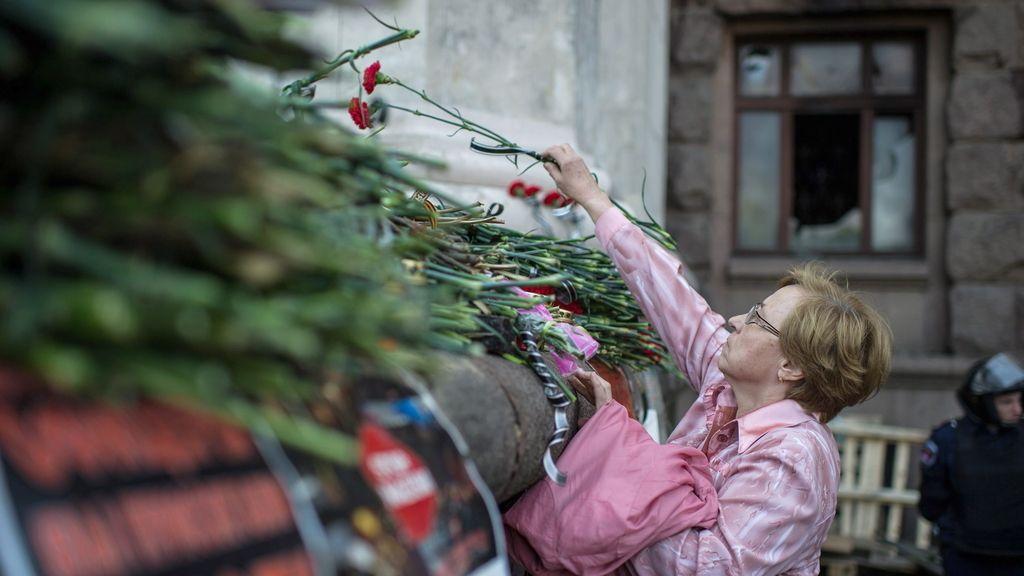 Dos días de luto nacional por los muertos de Odesa