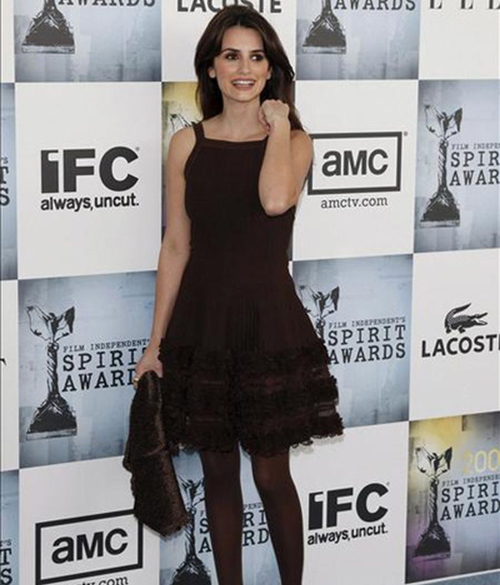 Penélope Cruz logra el Spirit de actriz de reparto del cine independiente