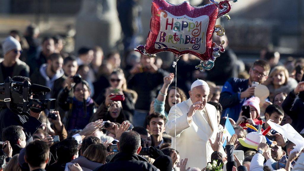 El Papa cumple 78 años
