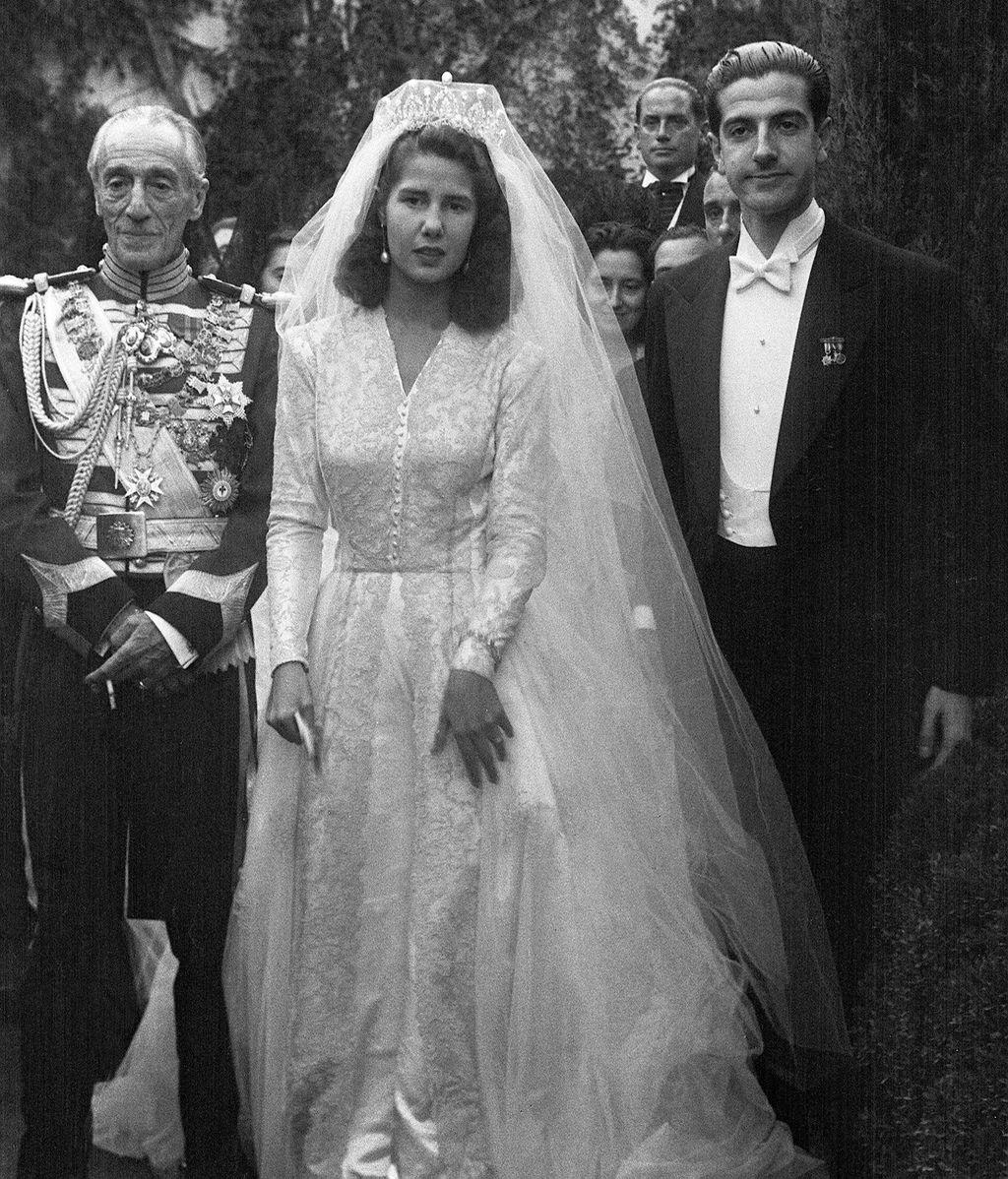 La duquesa de Alba se casa en 1947 con Luis Martínez de Irujo y Artacoz