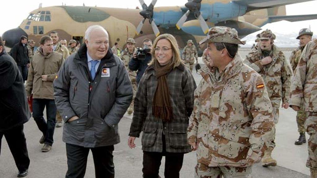 Visita sorpresa a Afganistán