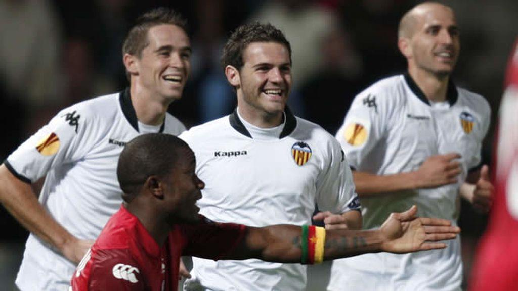 El Valencia no pudo pasar del empate