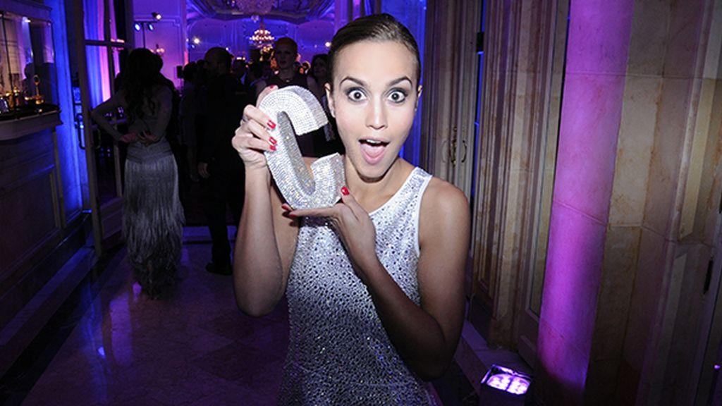 Megan Montaner, encantada con su premio a la mejor actriz de televisión