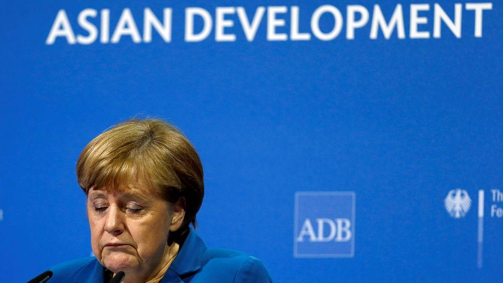 Angela Merkel en el Banco Asiático de Desarrollo