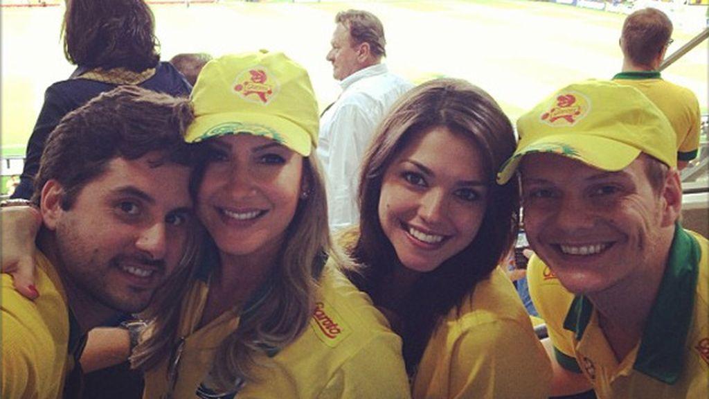 Prima de Kaká y fan de la 'canarinha'
