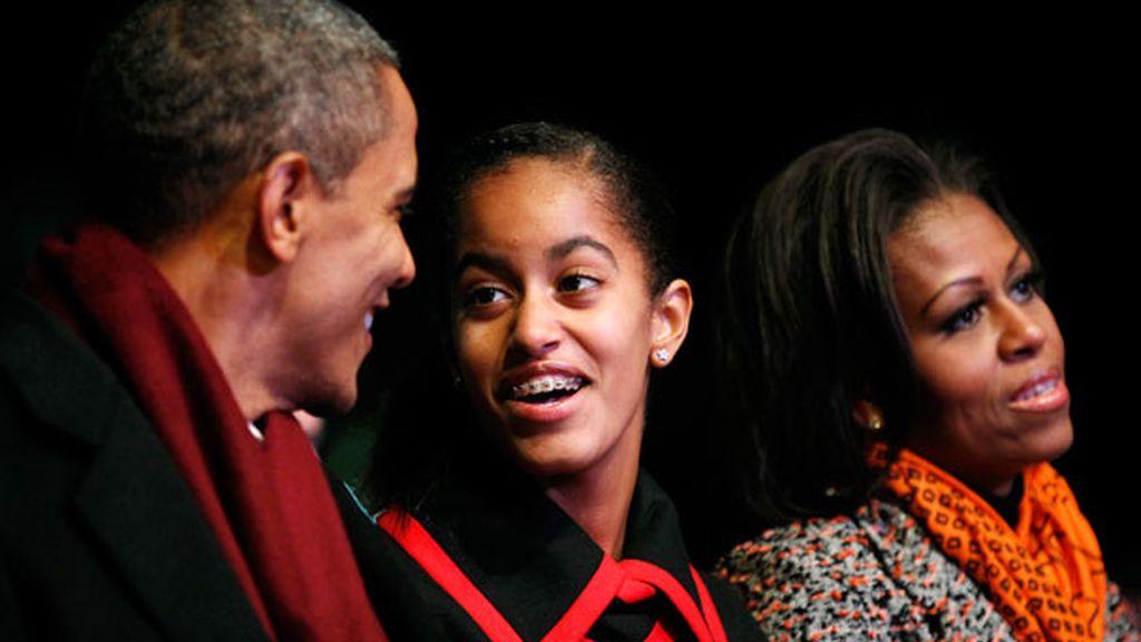 En casa de los Obama también entran los brackets (Gtres)