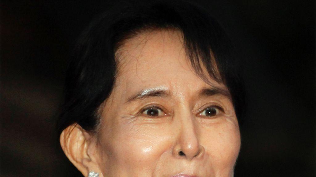 Aung San Suu Kyi liberada