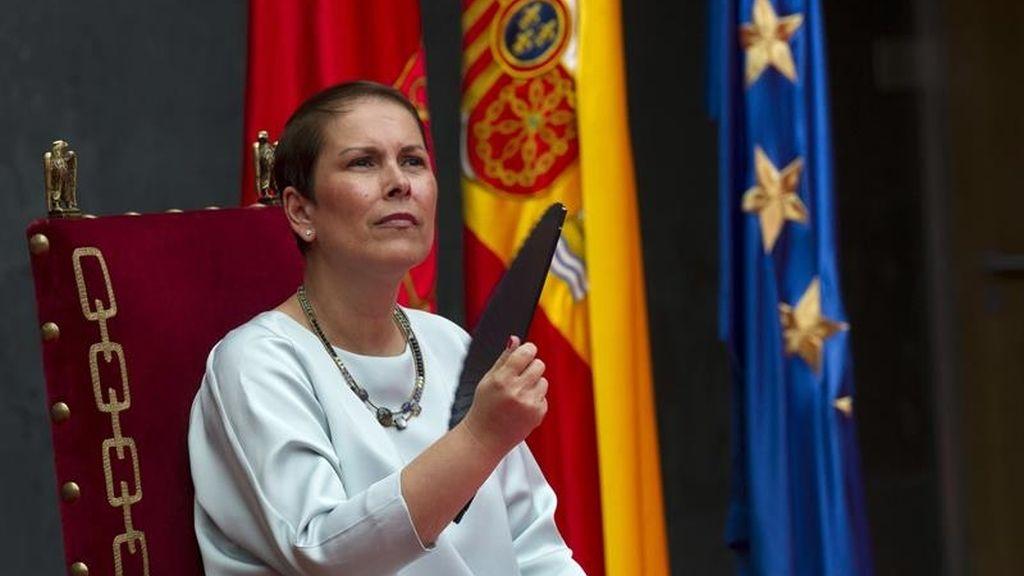 Uxue Barkos toma posesión como presidenta de Navarra