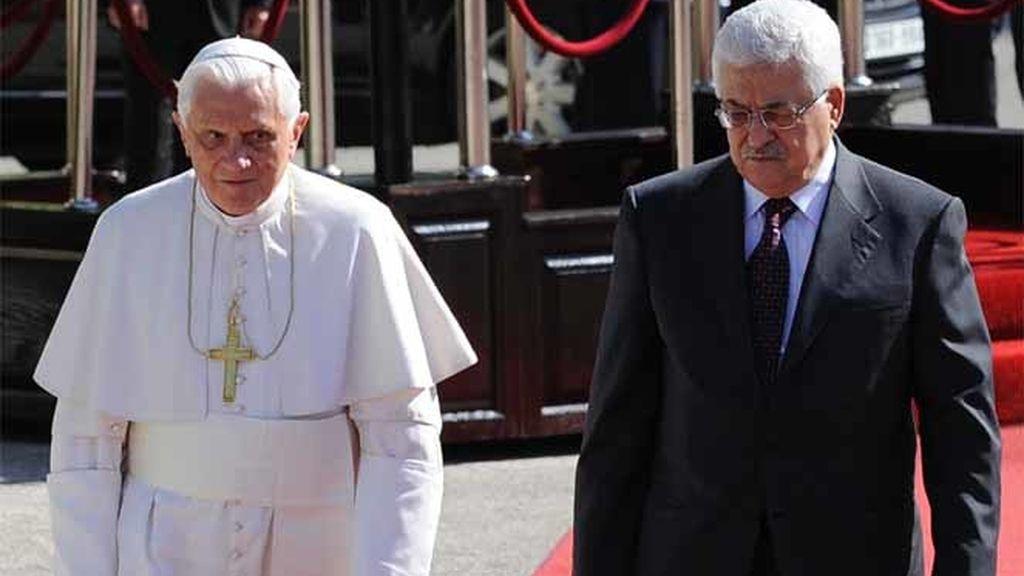 El Papa llega a Belén