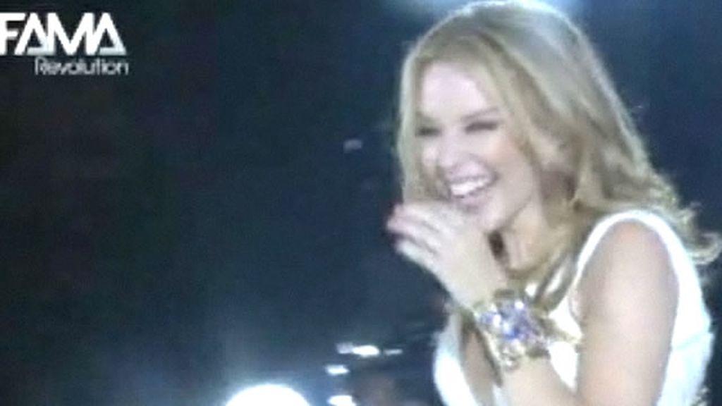 Sorpresa a Kylie Minogue