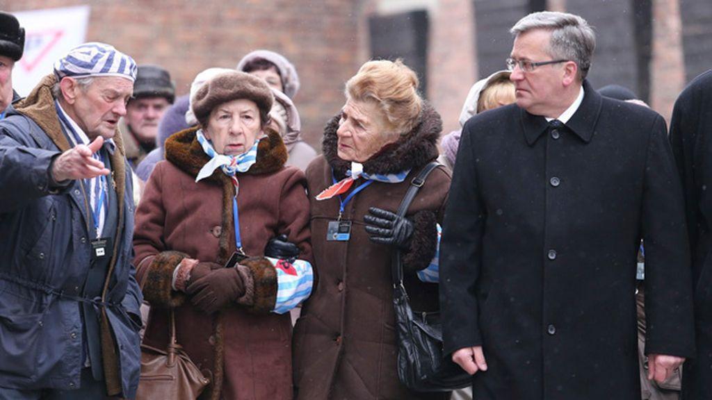 Los supervivientes vuelven a Auschwitz