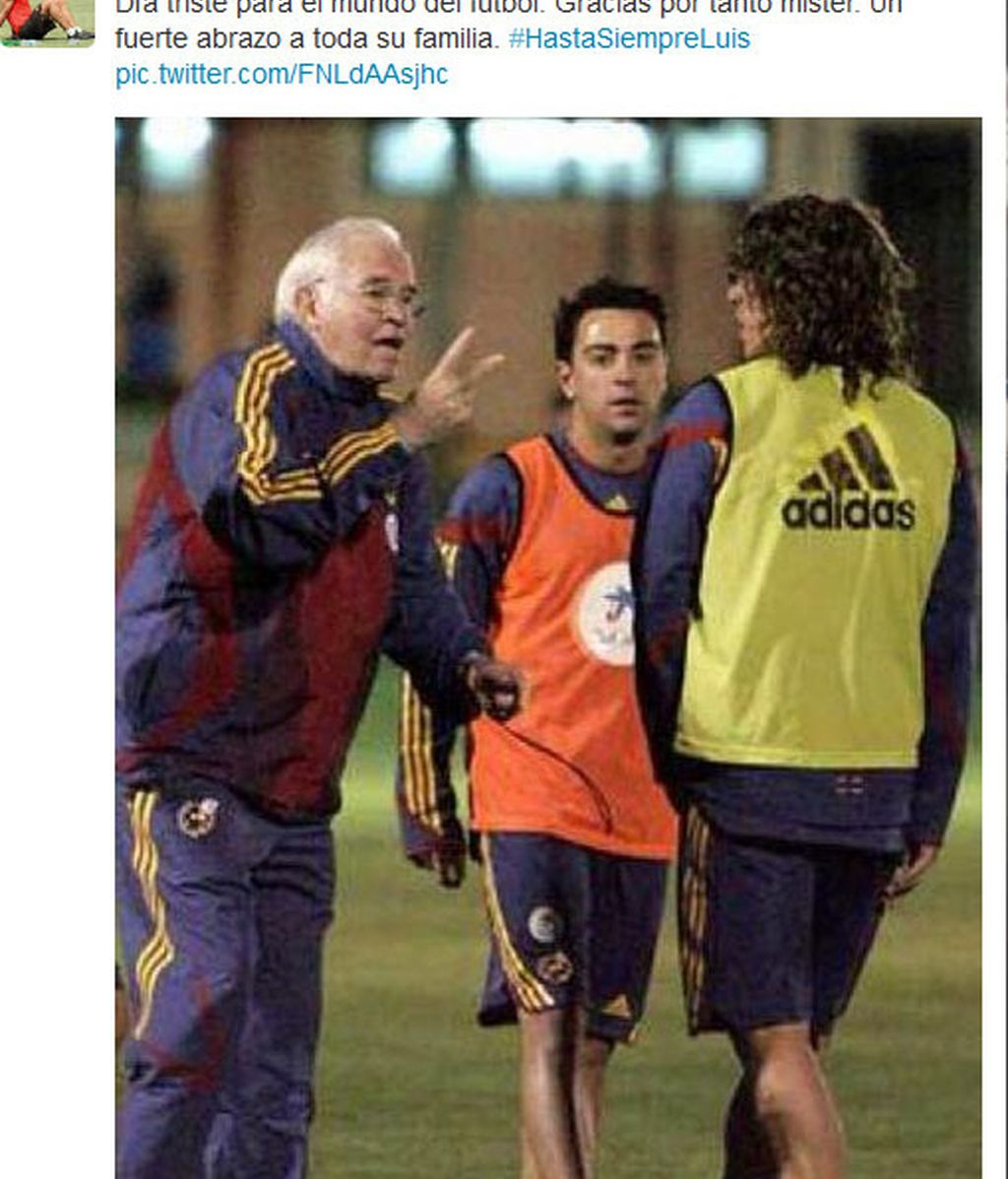 Tuit Carles Puyol