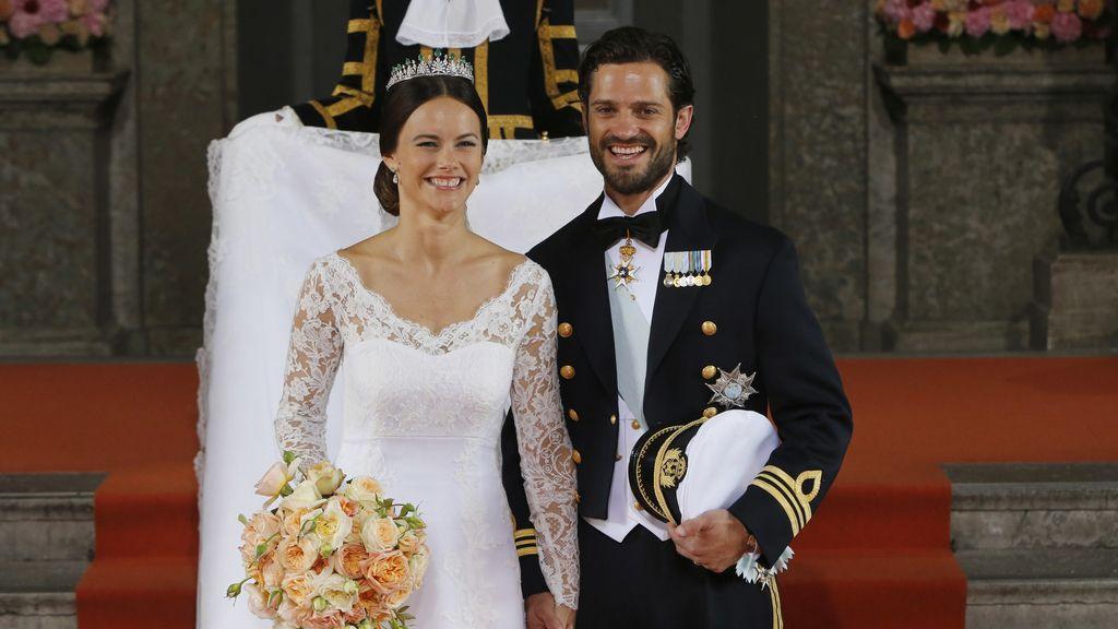 Carlos Felipe de Suecia se casa con Sofía Hellqvist