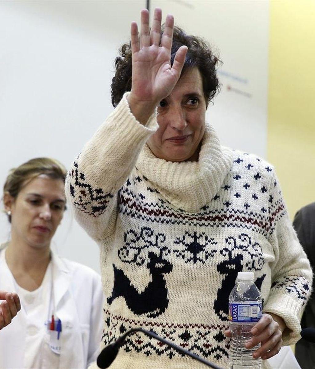 Teresa Romero sale del hospital