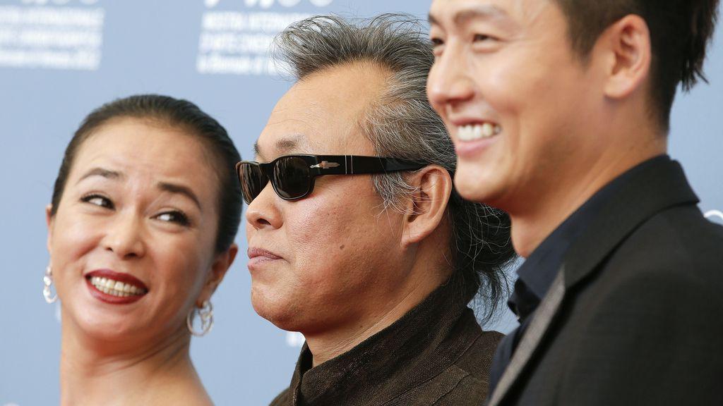El equipo de 'Pietá', ganadora en el 69º Festival de Cine de Venecia