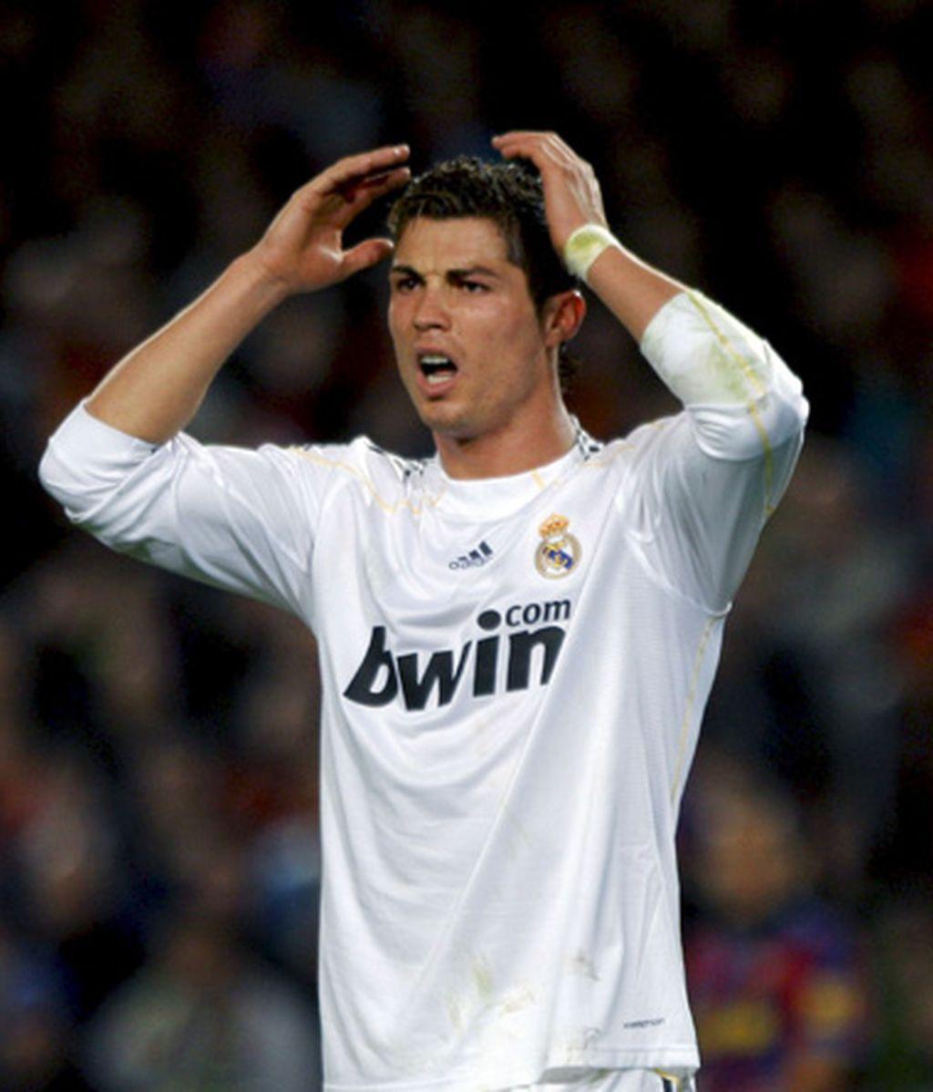 El lamento de Cristiano Ronaldo