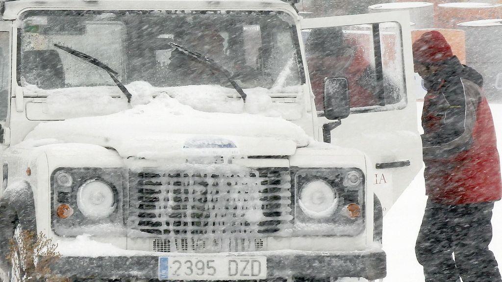 La nieve ya ha hecho acto de presencia en Cantabria