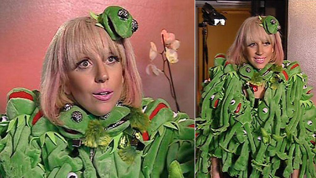 Gaga, homenaje a la rana Gustavo