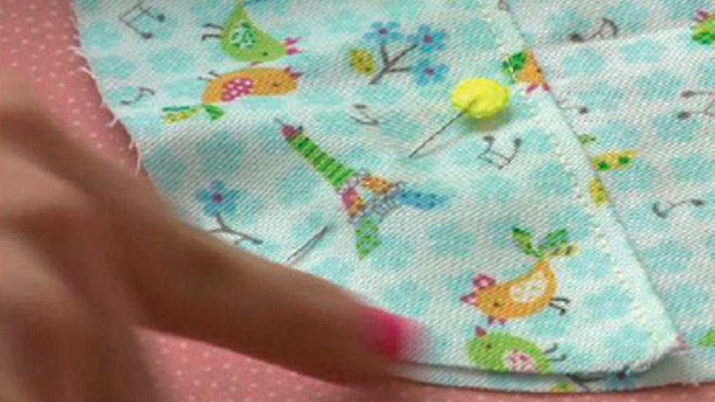 Tricotosas 35: Babero de bebé