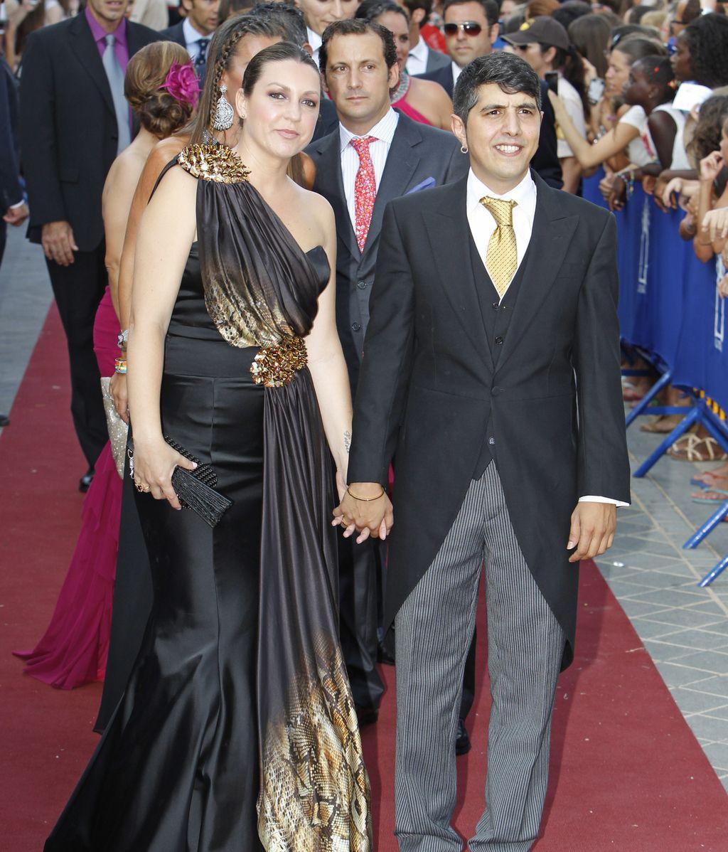 Niña Pastori y Julio Jiménez Borja