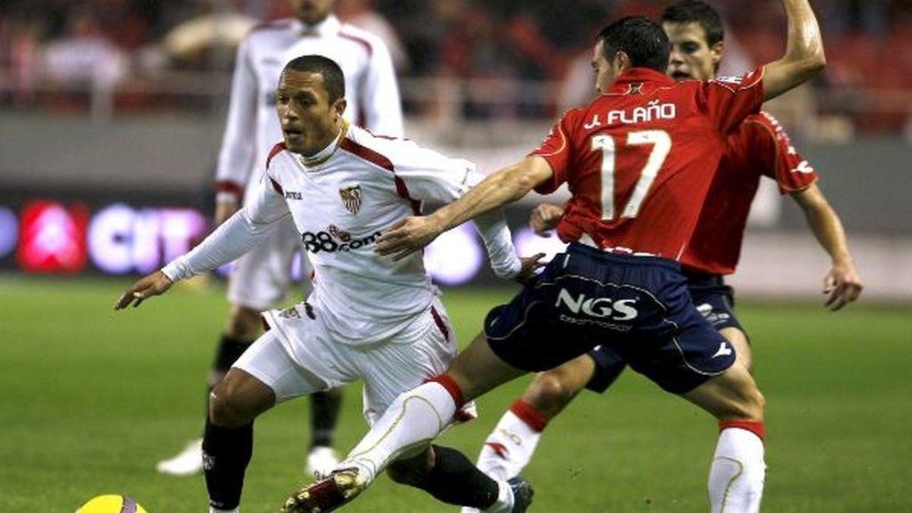 """1-1. El """"rifle"""" Pandiani desbanca al Sevilla del segundo puesto de la tabla"""