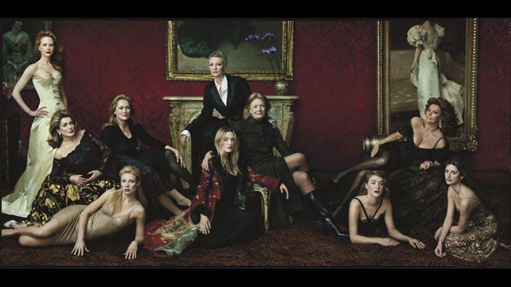 Las 10 actrices más importantes del cine actual para 'Vanity Fair'