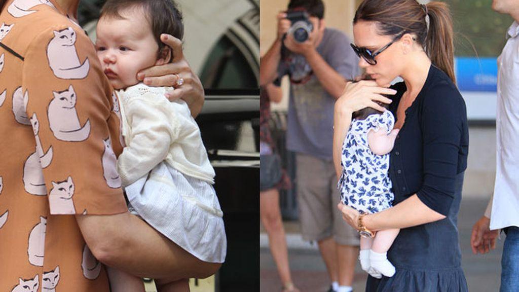 La pequeña acaba de cumplir 15 meses y ya viste las mejores marcas