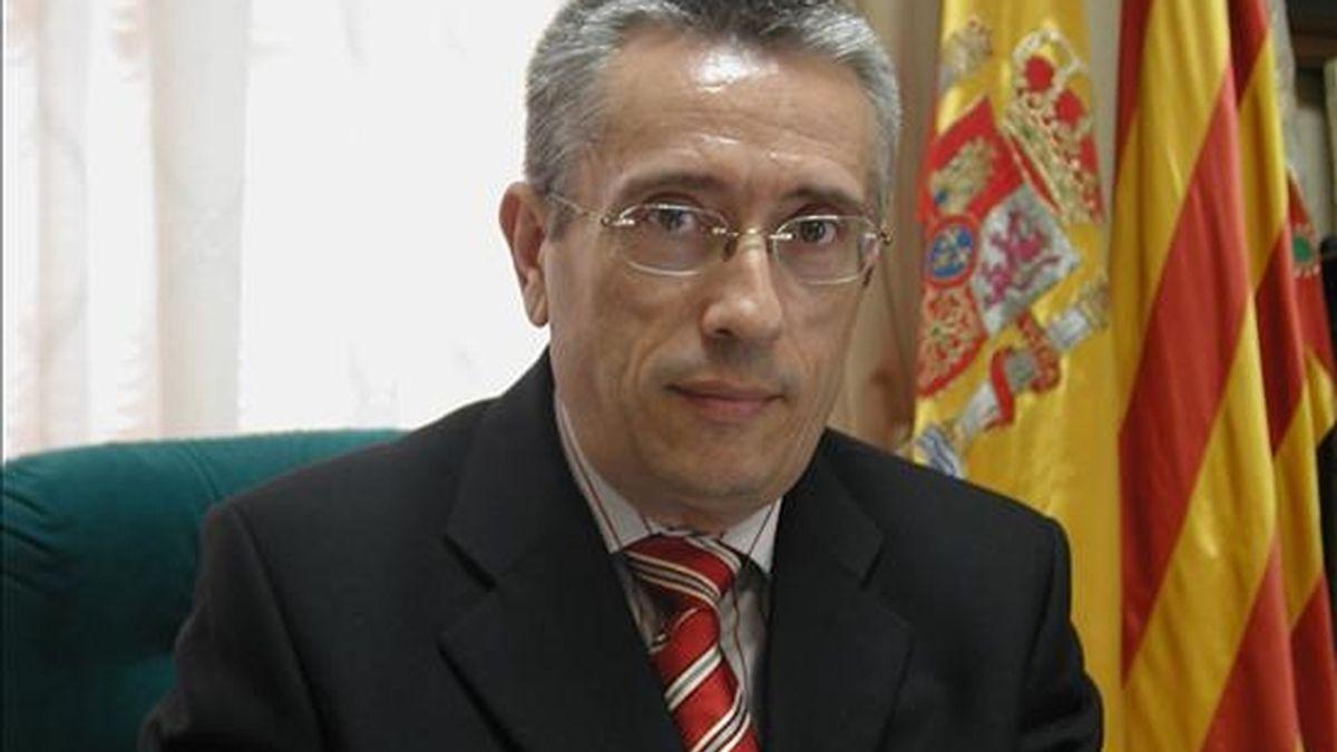 Fotografía del alcalde de la localidad alicantina de Polop, Alejandro Ponsoda, quien fue tiroteado ante la puerta de su casa. EFE/Archivo