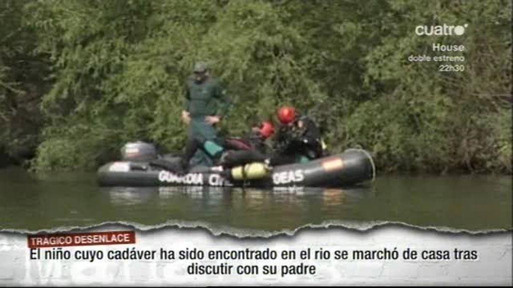 Aparece en el río el cadáver de un niño