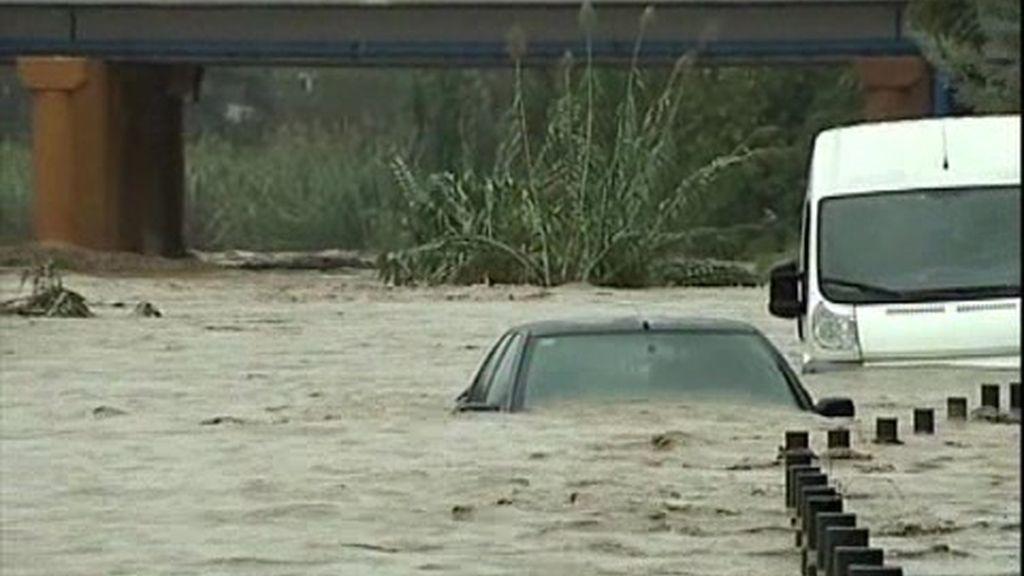 Desalojos por las lluvias en Cataluña