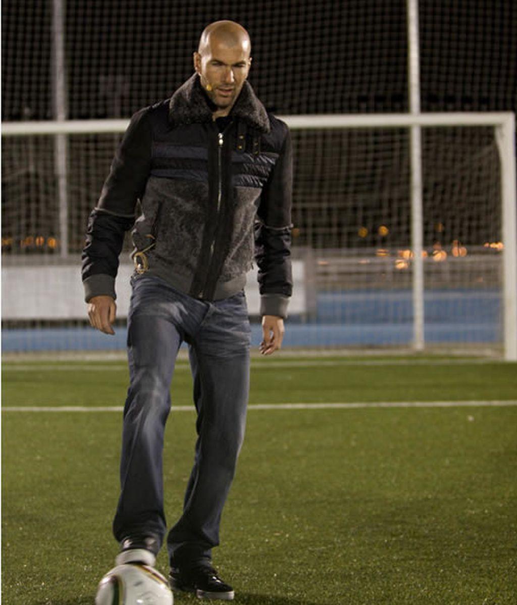 Zinedine Zidane, padrino de la Academia