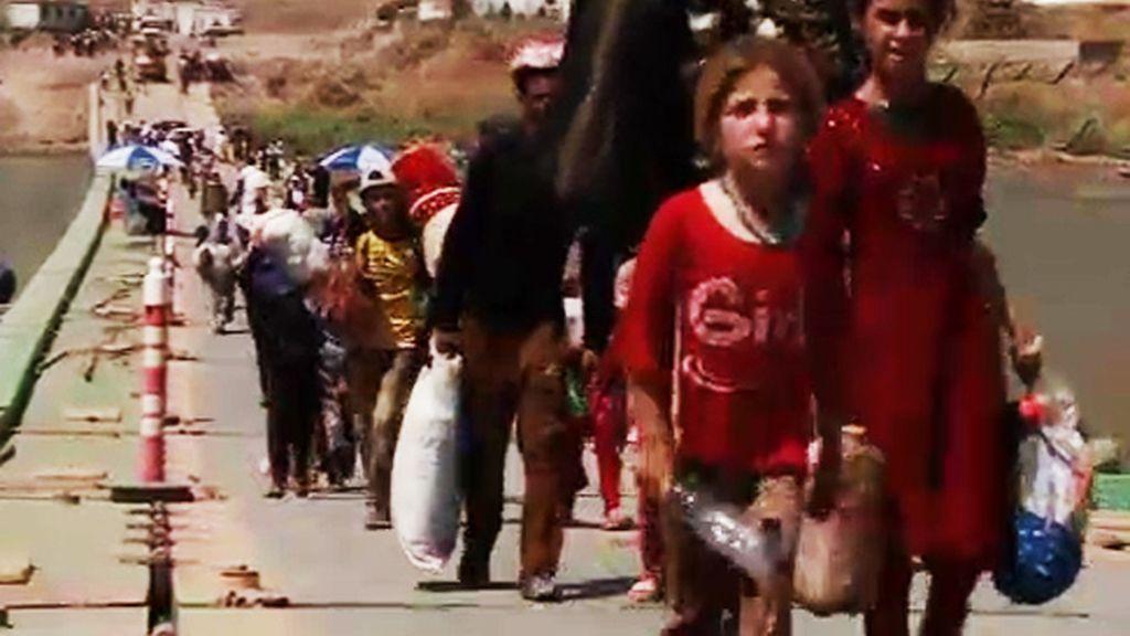El Estado Islámico sigue ensañándose contra la comunidad yazidí de Irak